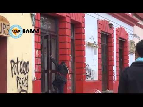 vandalismo  , saqueos    en tiendas oxxo san cristobal chiapas x264