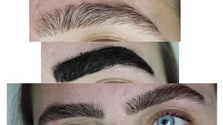 TINTING MY EYEBROWS (at home)    Isabel Moriarty