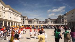 北一女中樂儀旗隊訪法之布希聖喬治市表演20130616