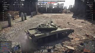 War Thunder Лучший бой на т 64 после пол литра самогона 8)
