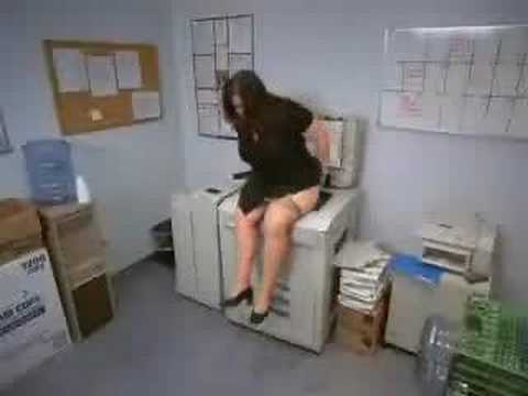 Photocopying your arse