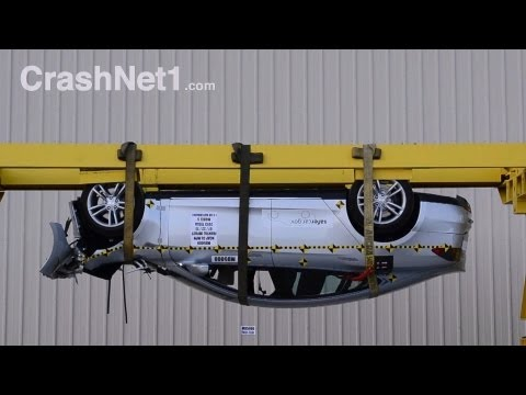 2013 Tesla Model S | Краш-тест, лобовой удар