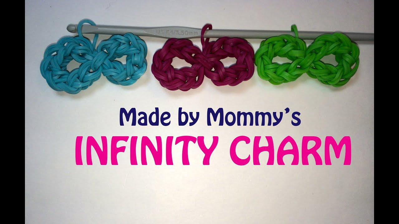 how to make infinity loom bands with fingers