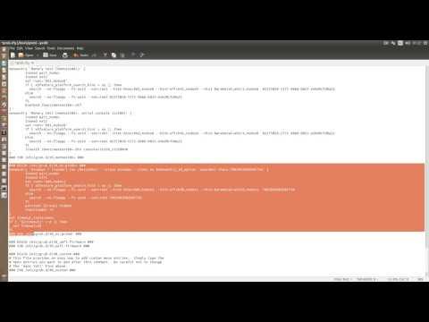 Modificar la grub de Ubuntu 14.04