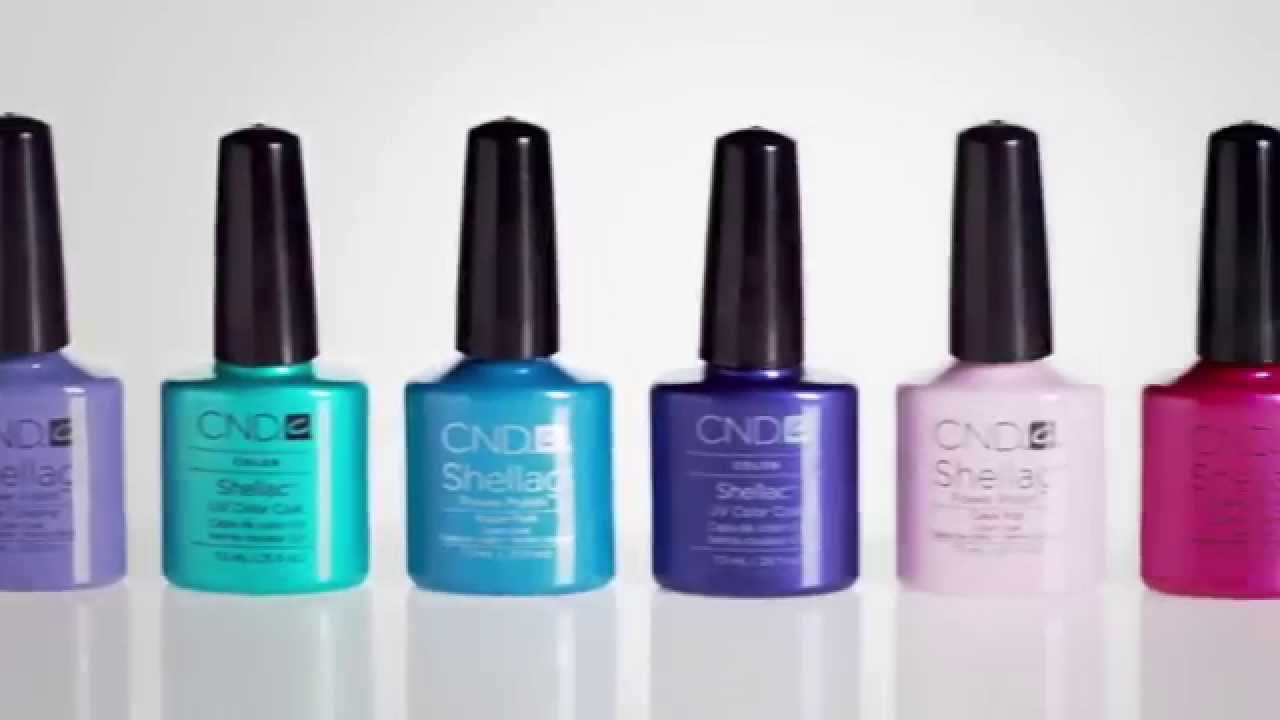 Shellac Intimates CND  Garden Muse collection