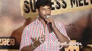 Vaadu Veedu - Vaadu Veedu Telugu Movie Success Meet- Aarya, Vishal, Madhu Shalini