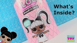 Hairgoals LOL Surprise Makeover Series Real Hair Dolls Unboxing | PSToyReviews