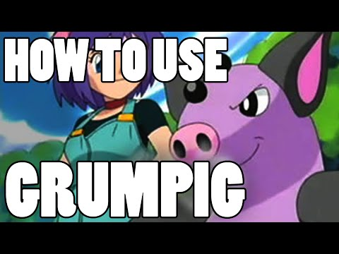 How To Use: Grumpig! Grumpig Strategy Guide ORAS / XY