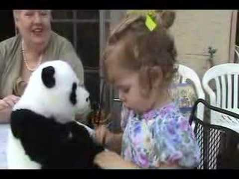 Julia & her panda