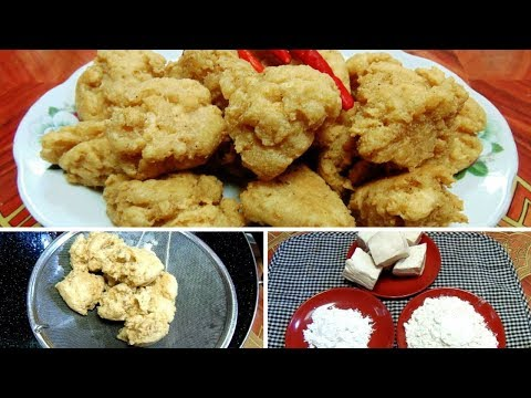 Cara Membuat Tahu Kribo Hanya 3 Bahan