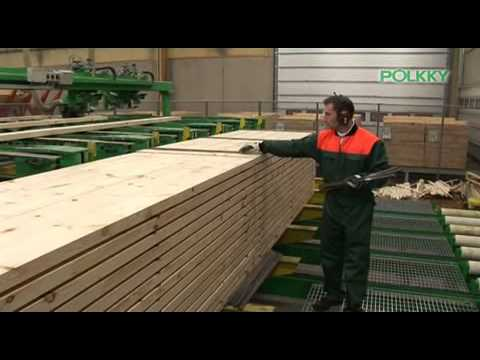 Polkky the largest private wood processing company in Northern Finland
