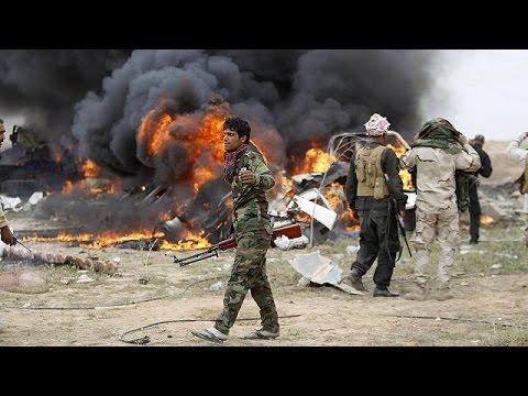 القوات العراق تواصل هجومها ضد داعش في تكريت