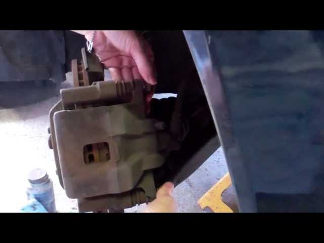 Toyota Corolla Brake pad replacement complete - YouTube