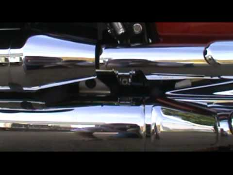2008 Yamaha V Star 1100 Classic Oil Change Part 1.mpg