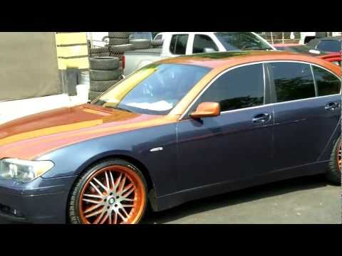 Bmw 745 Two Tone on 22's