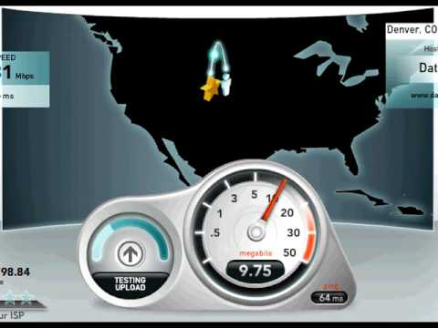 Comcast DOCSIS 3.0 Speed Test