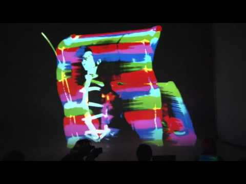 Interactive light painting and Freak-Cabaret of Nasya Demich