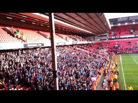Don't sack Mackay song - Liverpool vs Cardiff City