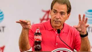 Watch Nick Saban launch Tennessee week as both teams are ranked