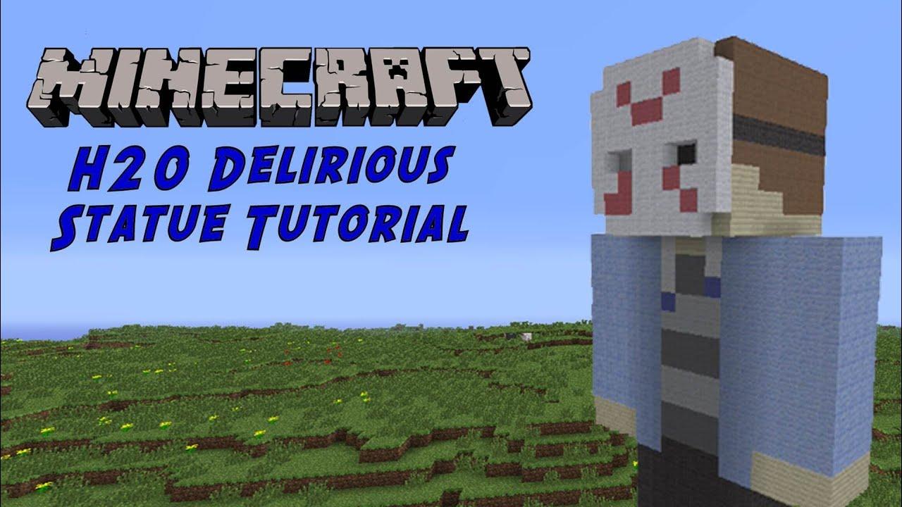 Minecraft Tutorial H20  H20 Delirious Minecraft Skin