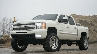 2012 Chevy Silverado on American Force Wheels and a 7.5
