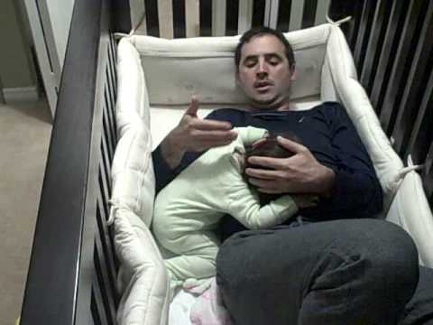 Father Goes Into Baby Crib! video