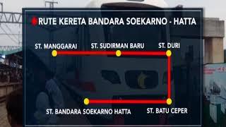 Bertujuan ke Bandara Soetta Dengan Kereta, Berikut Rute & Harganya - iNews Sore 27/11