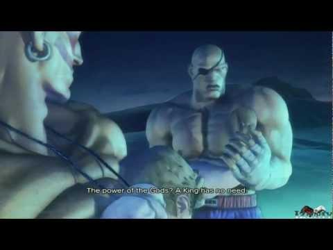 Street Fighter X Tekken : Dhalsim & Sagat Rival Battle Scene + Ending Cinematic [HD]
