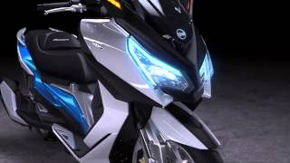 2016 NEW SYM MAXSYM 500 CONCEPT official promo video-teaser