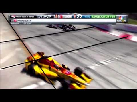 2016 IndyCar Long Beach Pit Exit Controversy Explained