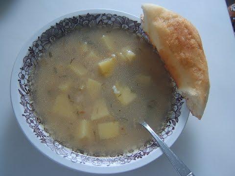 Рисовый суп, пышки