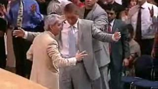 Benny Hinn - Amazing Glory of God Falling on People (1)