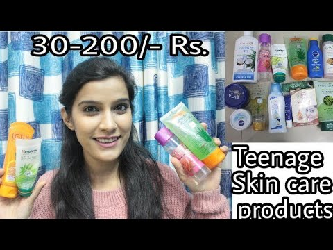 Step By Step Teenage Skin Care Routine | Under 200 Rs.Only | Affordable Products | | Super Style Tip