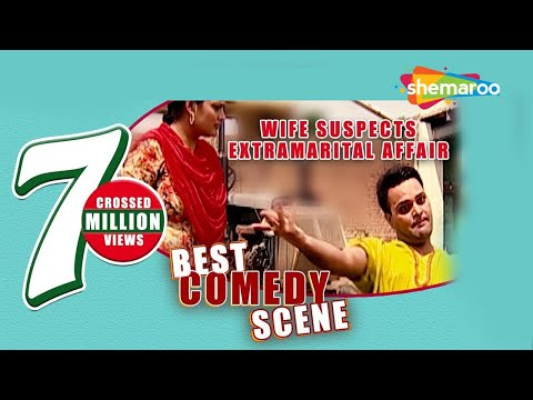 Best Comedy Scene - Wife Suspects Extramarital Affair - Family 422 - Gurchet Chittarkar video