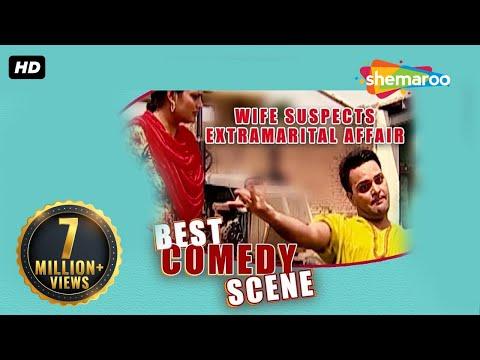 Best Comedy Scene - Wife Suspects Extramarital Affair - Family 422 - Gurchet Chittarkar video