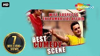 Best Comedy Scene - Wife Suspects Extramarital Affair - Family 422 - Gurchet Chittarkar