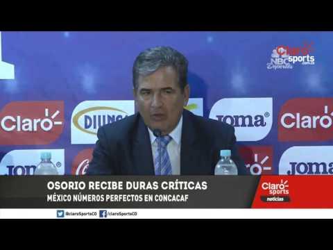 Juan Carlos Osorio y Jorge Luis Pinto resaltaron los triunfos de México y Honduras