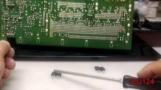 Diagnostico e Conserto de TV Plasma passo a passo LG42PJ350 #PARTE2