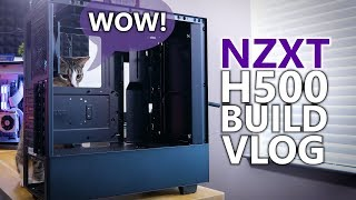Building in the NZXT H500