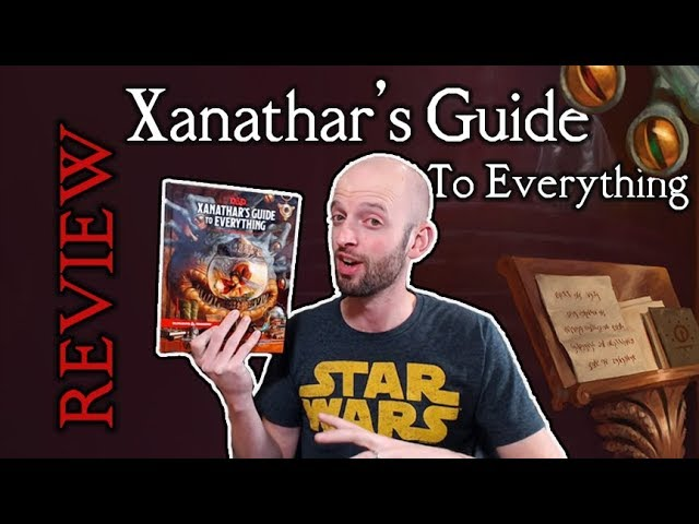 Xanathar's Guide to Everything - Dungeons Dragons