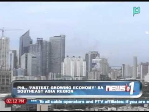 Pilipinas, nananatiling 'Fastest Growing Economy; sa Southeast Asia Region || Nov. 1, '13