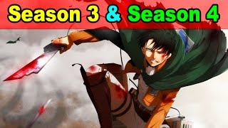 Attack on Titan Season 3 Release Date & Season 4 Info from Studio