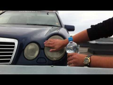 DIY: Mercedes-Benz E55 AMG Headlight Restoration with Toothpaste
