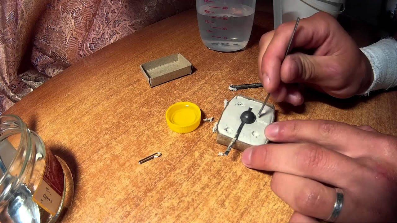 Как изготовить грузила своими руками