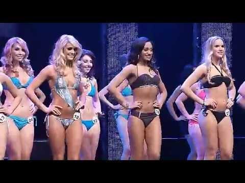Miss World Canada 2013 - Bikini Swimwear Competition!! video