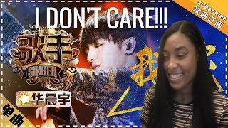 Hua Chenyu - I Don't Care (Singer 2018) Reaction
