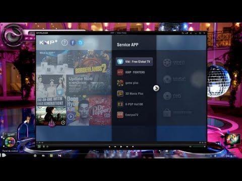 Ver Peliculas 3D En La Pc - Descargar KMPlayer Version 3.6 - 2014