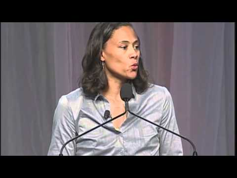Marion Jones at the 2011 MA Conference for Women