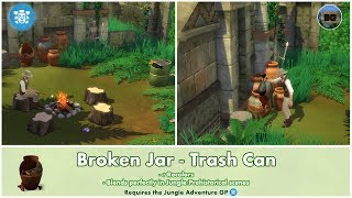 Bakies The Sims 4 Custom Content: Broken Jar - Trash Can