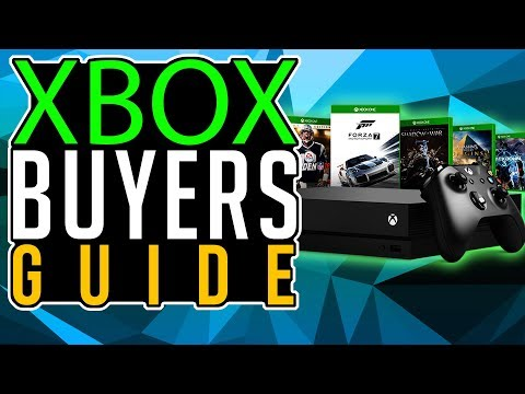 XBOX ONE X BUYER'S GUIDE | Holiday buyer's guide 2017 | Best Games, Headset, TV, Controller, Monitor